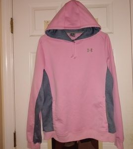 Women's Under Armour Pink Breast Cancer Hoodie L